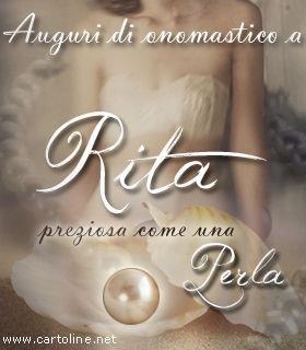 Buon Onomastico A Rita