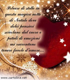 Frasi Di Natale Romantiche.Romantico Pensiero Di Natale