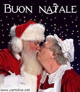 Frasi Auguri Natale Moglie.Babbo Natale Innamorato