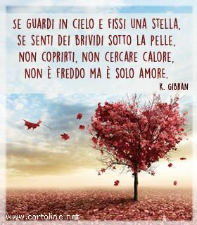 E Solo Amore Di Kahlil Gibran