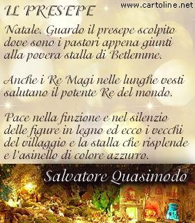Poesia natalizia di salvatore quasimodo - Poesia specchio di quasimodo spiegazione ...