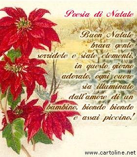 Poesie In Rima Di Natale.Poesia Di Natale