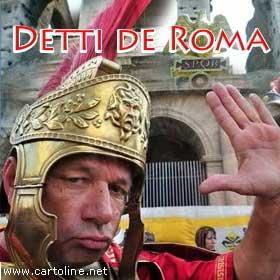 Detti de roma for Secondi romani