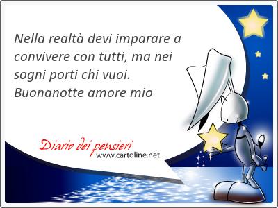 27 Frasi Di Buonanotte Amore Mio Diario Dei Pensieri