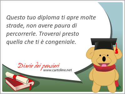 10 Frasi Di Congratulazioni Diploma Di Maturita Diario Dei Pensieri